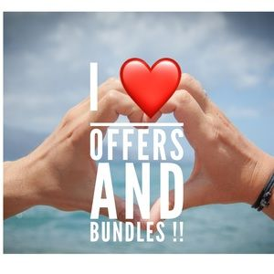 Make me a reasonable offer!! Bundle your likes!!